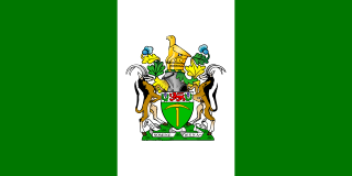 Flag of Rhodesia.